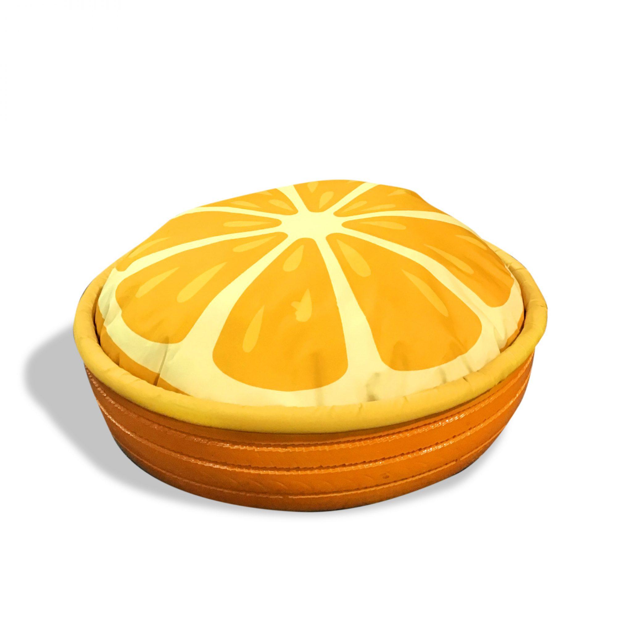 Cama para mascotas, Naranja