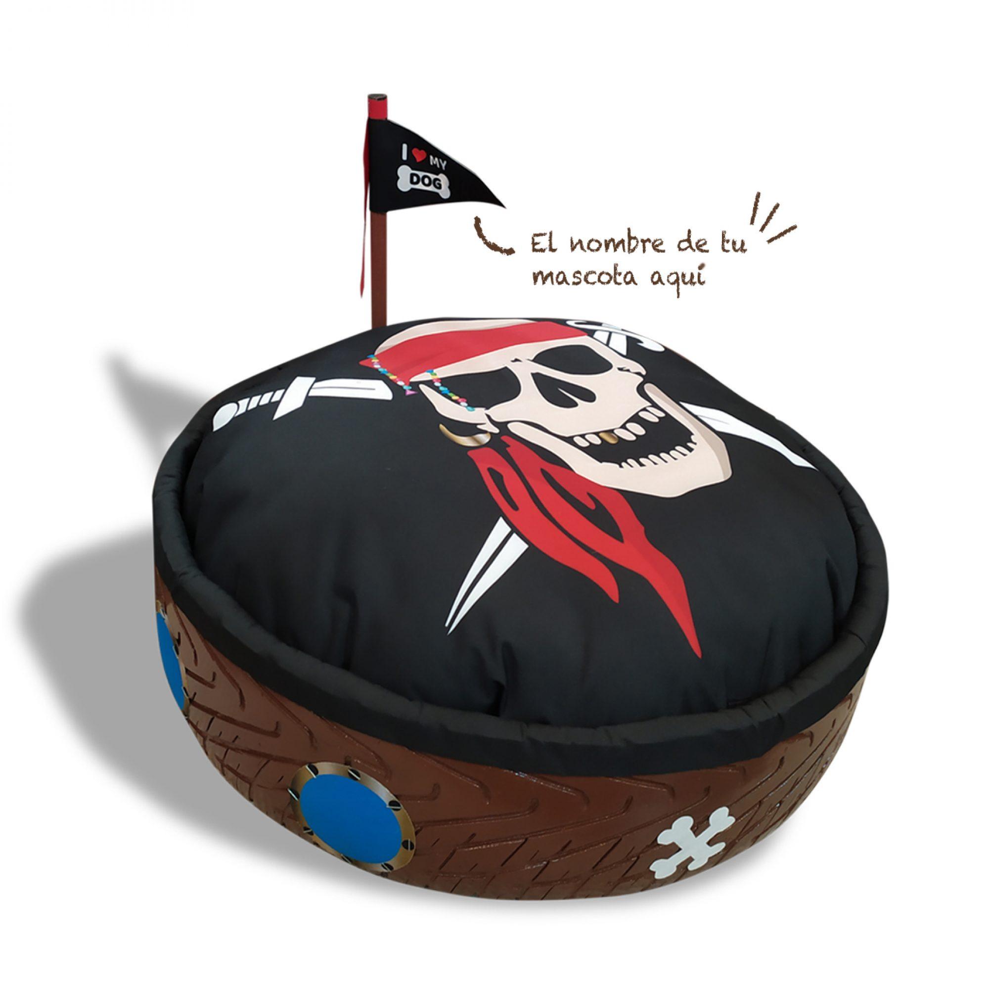 Cama para mascotas, Pirata