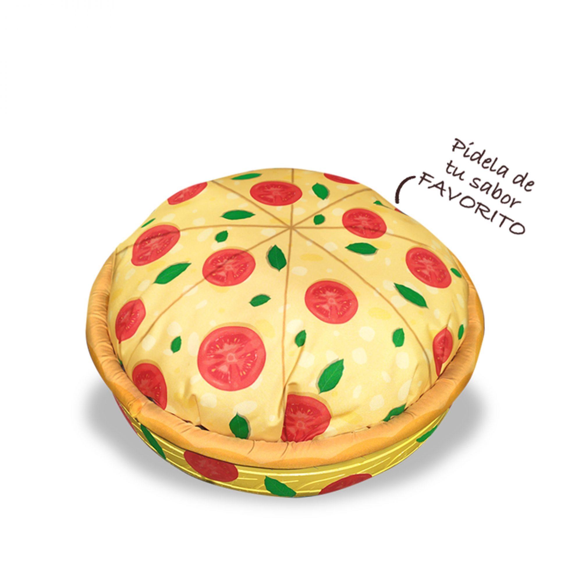 Cama para mascotas, Pizza