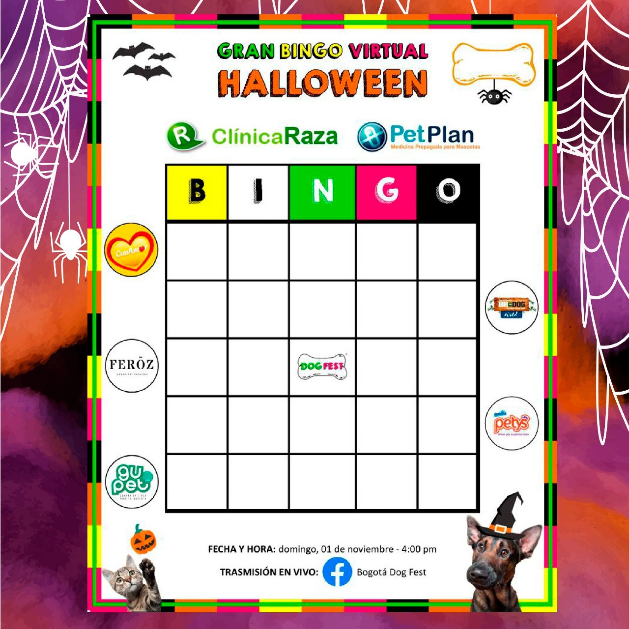 Gran Bingo Virtual Halloween