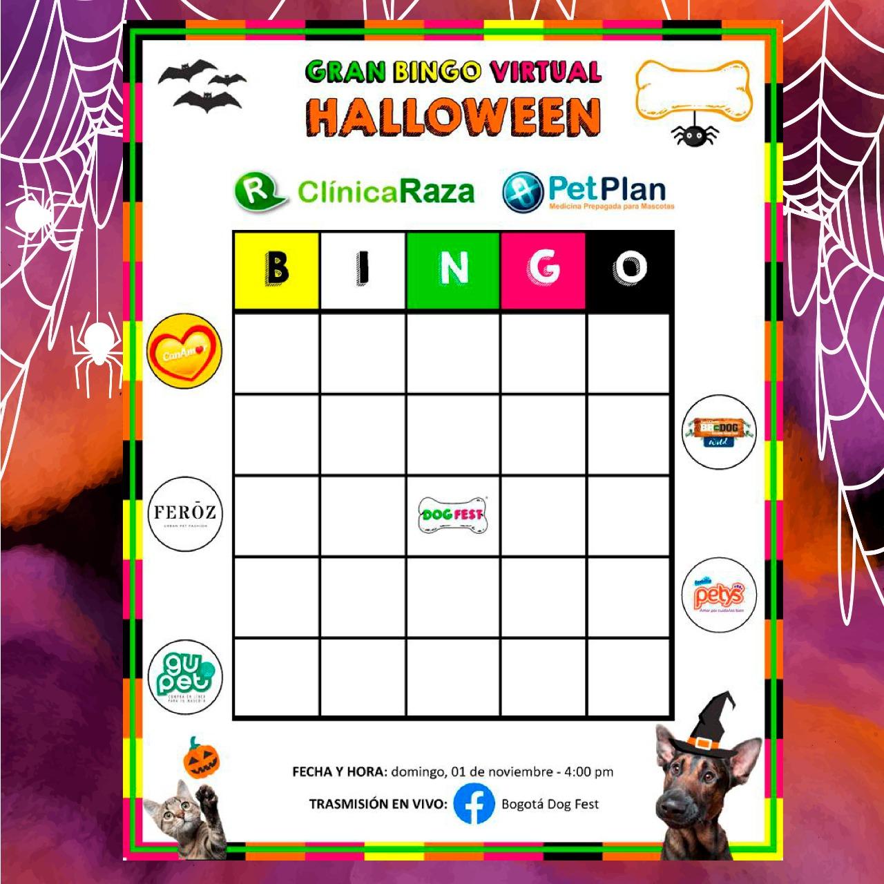 Gran Bingo Virtual Halloween