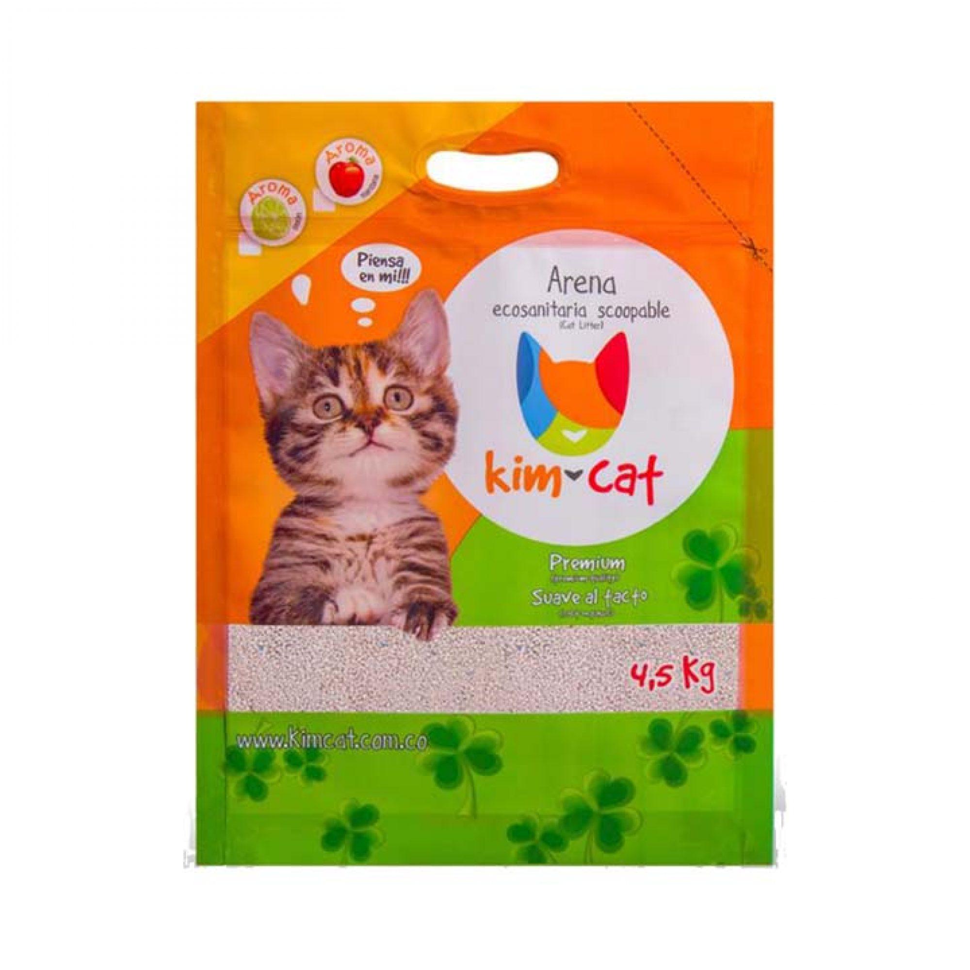 Arena Ecosanitaria Scoopable Kim Cat