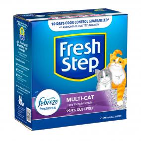 Arena Fresh Step Multi-Cat con Febreze