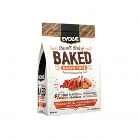 Evolve Dog Grain Free Oven Baked – Horneados Pavo