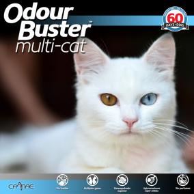 ODOUR BUSTER ORIGINAL CAT LITTER 14KG