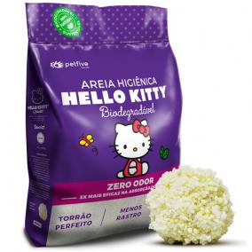 Arena para Gatos Hello Kitty granos grandes